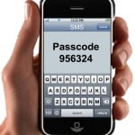 Passcode transmission via SMS using SecurAccess