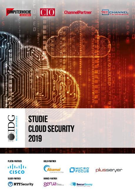 IDG Cloud Security Studie 2019