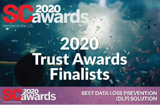 SecurEnvoy are finalists for Best Data Loss Prevention Solution in SC Magazine 2020 awards