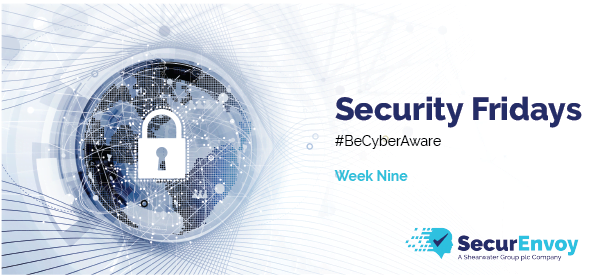 Image for Security Fridays: Week 9