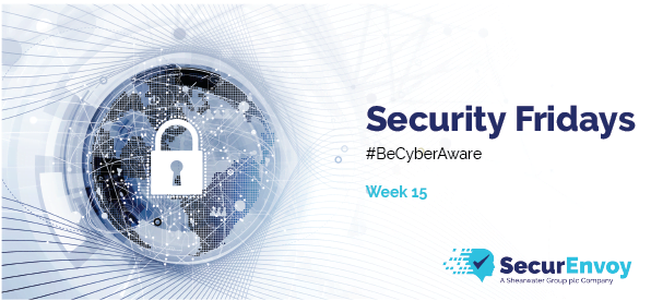 Security Fridays: Week 15